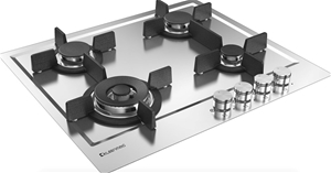 Kleenmaid 60cm Stainless Steel Gas Cookt
