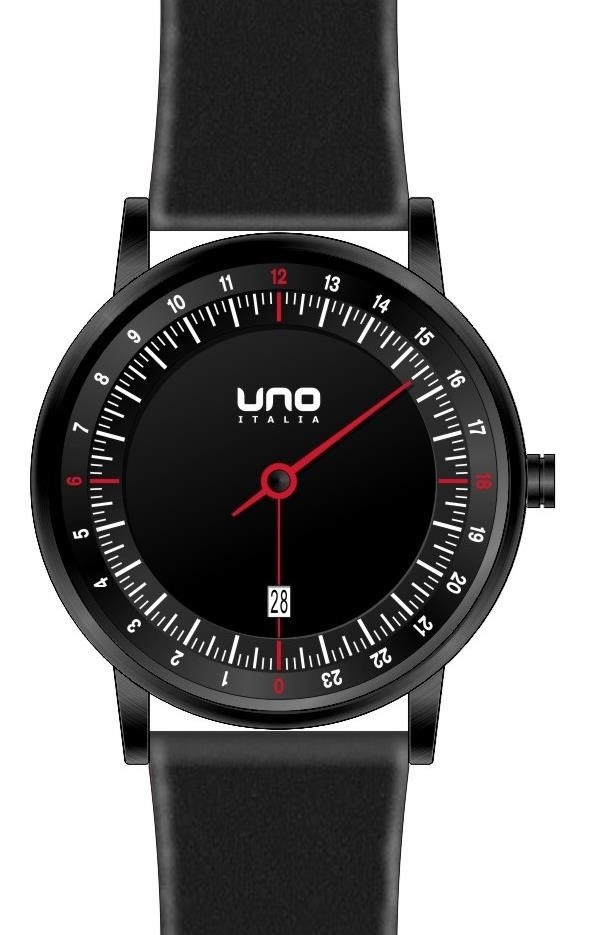 Uno Italia UNO24 Swiss Collection Single Hand Watch