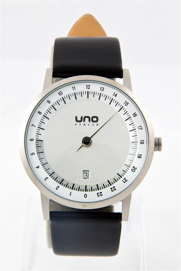 Uno Italia UNO24 Swiss Collection Single Hand Watch