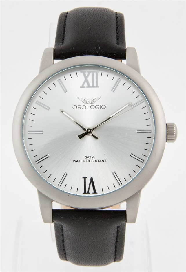 Orologio Emporio Collection Men's Leather Watch