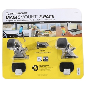 SCOSCHE 2-Pack Magnetic Mounting System
