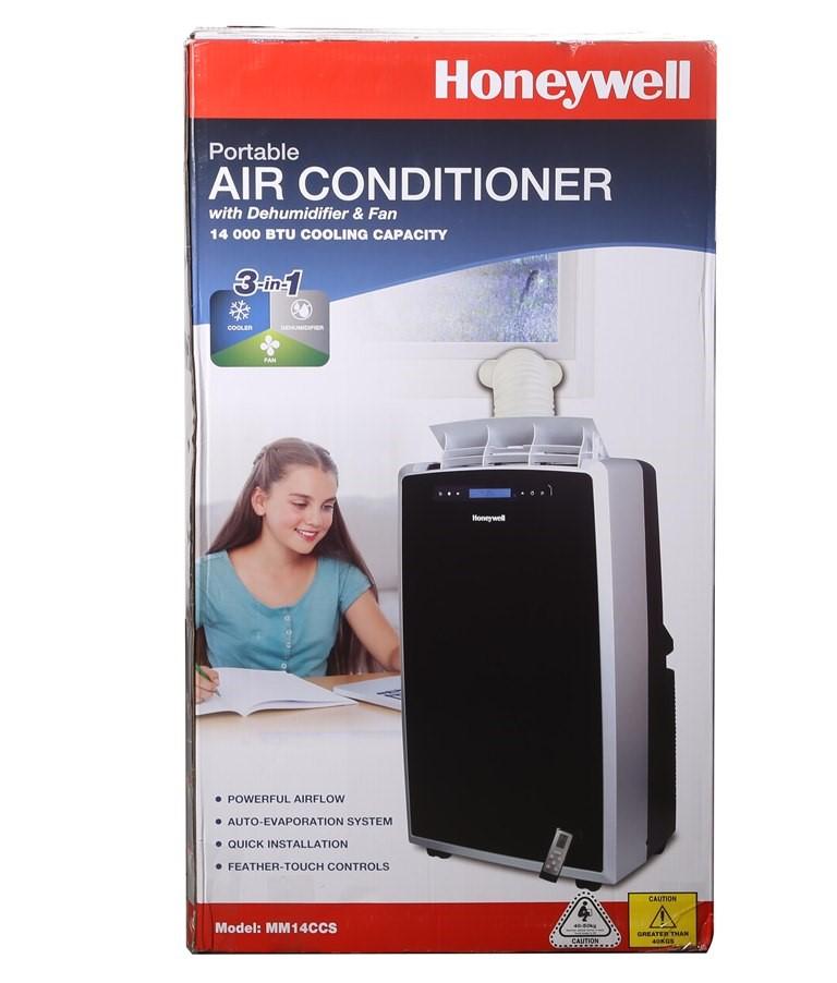HONEYWELL Portable Air Conditioner 14,000BTU with Dehumidifer & Fan, Model