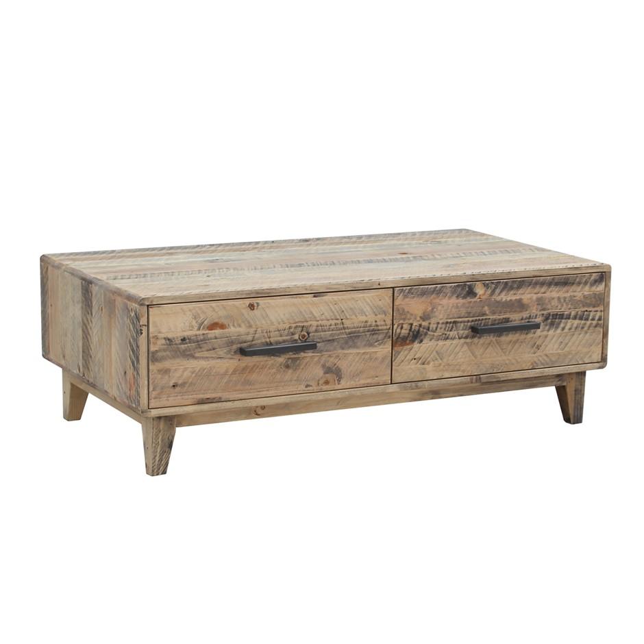 Rustic Look Coffee Table - Wood Nature