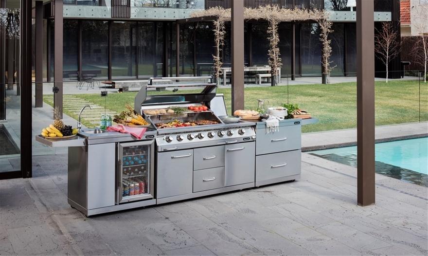 6 Burner Outdoor Bbq Kitchen