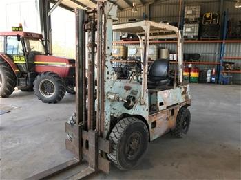 Toyota 02-FD35 Forklift