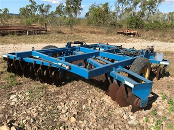 Grizzly Offset Disc Plough