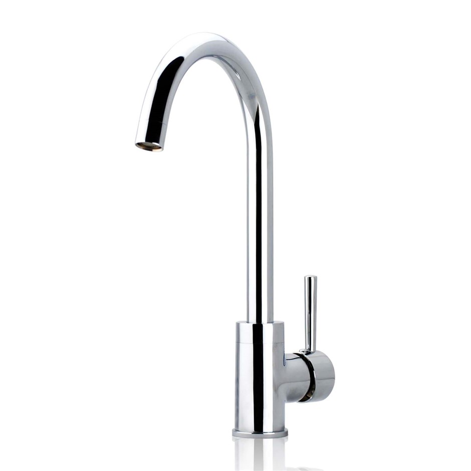 Standard Chrome Kitchen Mixer Tap Sink Faucet Watermark and WELS Approved