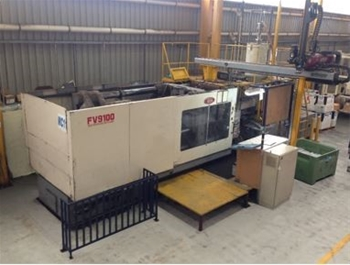 650 Tonne Injection Moulding Machine
