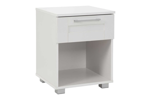 Montreal Bedside Table with 1 Drawer - W