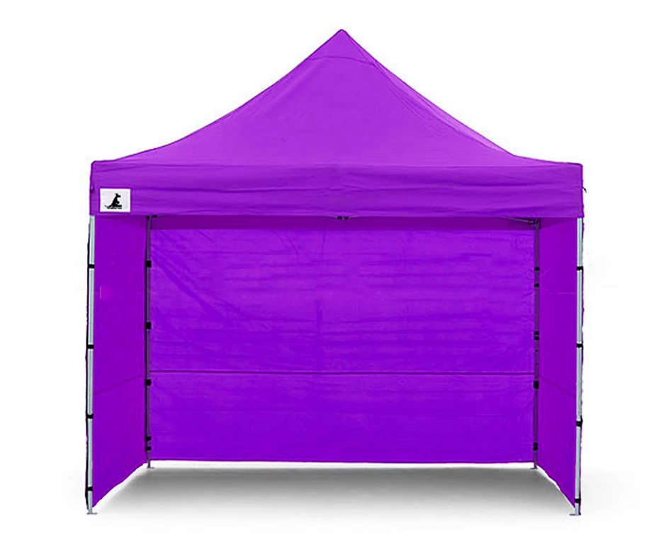 Wallaroo 3x3 Marquee - PopUp Gazebo - Purple