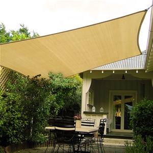 Wallaroo Shade Sail 4x4m Square