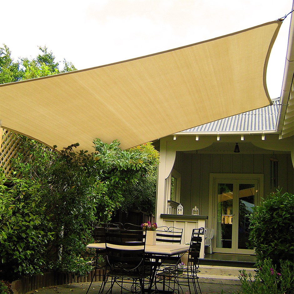 Wallaroo Shade Sail 7 x 6m Rectangle