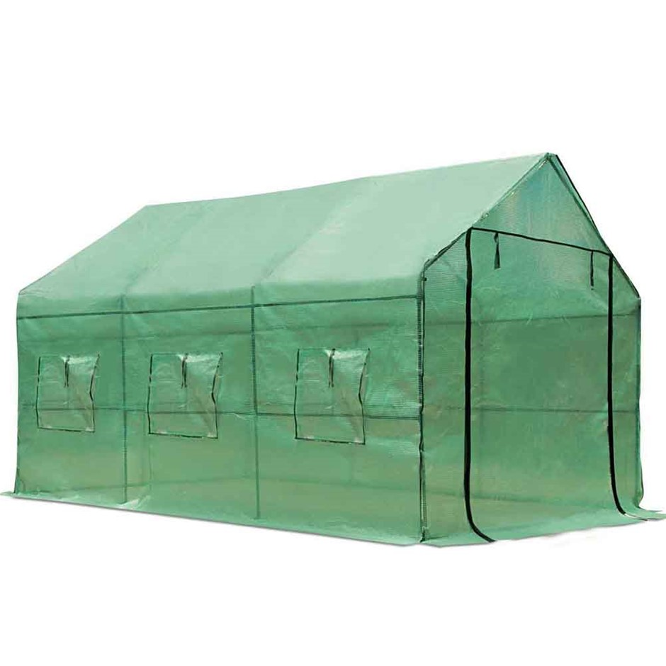 Green Fingers Walk In Green House 3.5 x 2m
