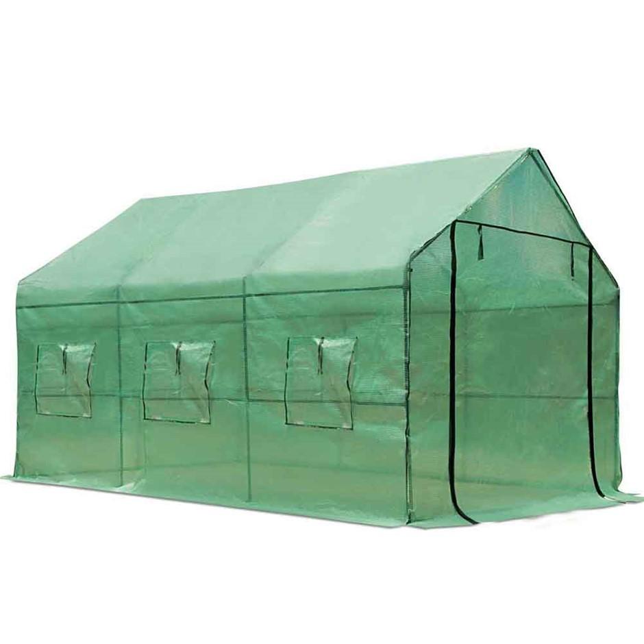 Green Fingers Walk In Green House 3.5 x 2m
