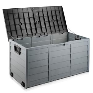 Giantz 290L Outdoor Storage Box - Black