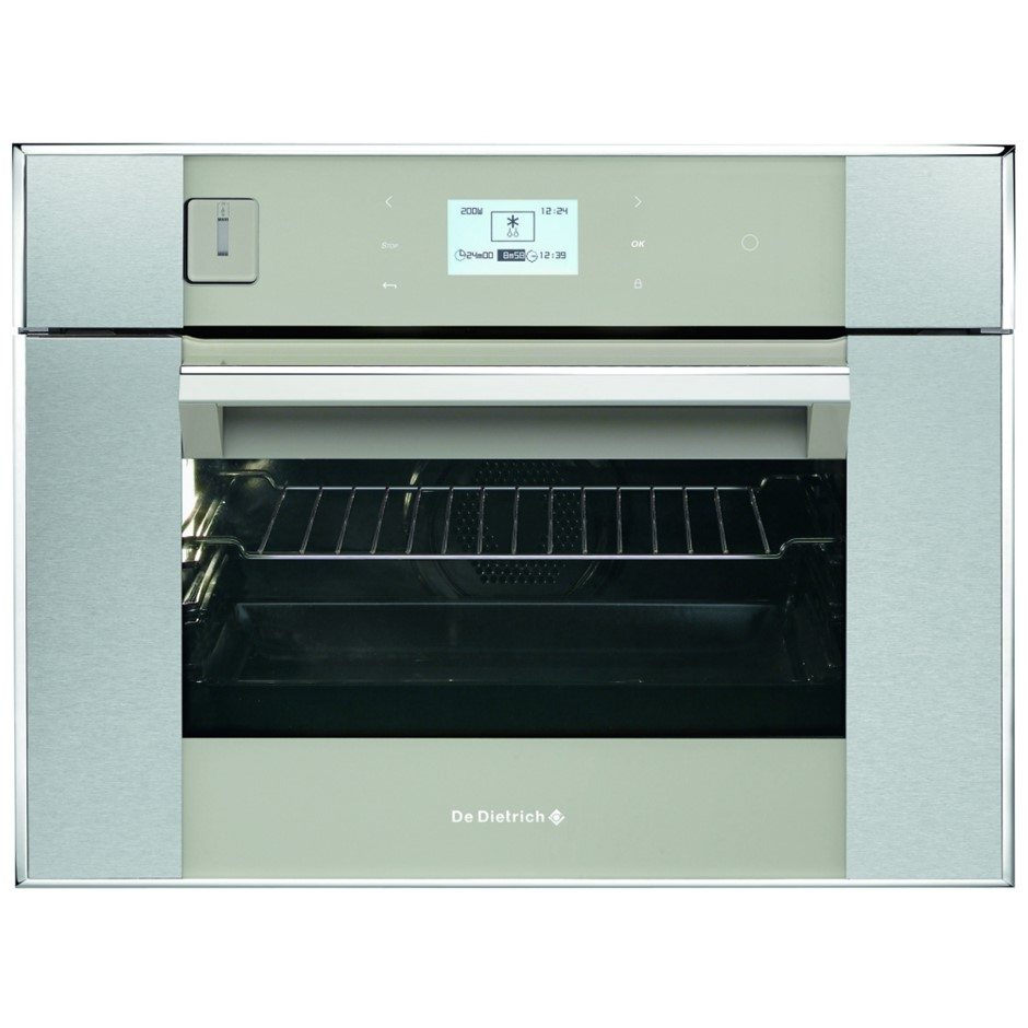 De Dietrich 45cm Multifunction Steam Assisted Oven Grey Pearl (DOS1195GX)