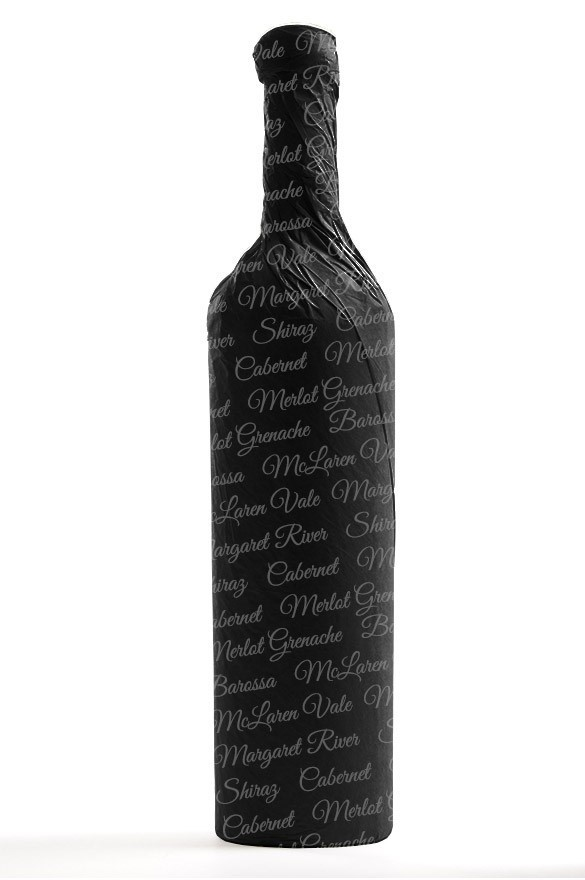 Button Wines Cleanskin Shiraz Cabernet Sauvignon 2010 (12 x 750mL) VIC