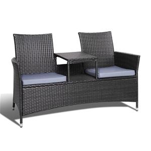 Gardeon 2 Seater Outdoor Wicker Bench -