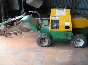 Austoft Mustang Tr 14 Mini Trench Digger Auction 0014