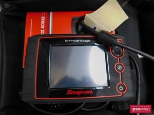 Diagnostics Scan Tool, Snap-on Ethos Edge EESC332A, handheld, S/N: 267EEA-5