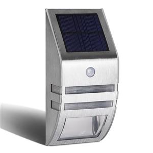 Set of 4 LED Solar Powered Senor Light