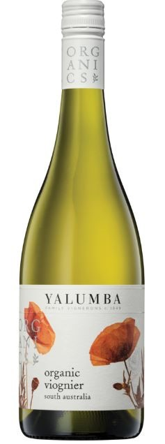 Yalumba `Organic` Viognier 2017 (6 x 750mL), Barossa, SA.