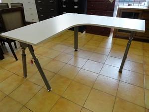Office Desk L Shaped Corner Unit Whi