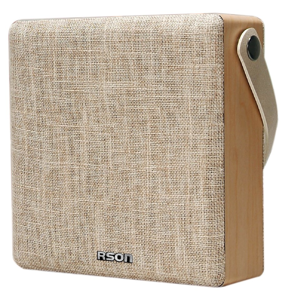RSON Bluetooth Fabric Box Wireless Speaker 5W, Operating Distance 10M, Buil