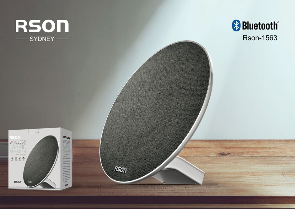 Rson Discus Black/Green Wireless Speaker (1563)