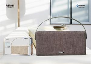 Rson Wireless Black Double Side Fabric S