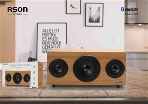 Rson 2.1 Old School Wooden Bluetooth Spe