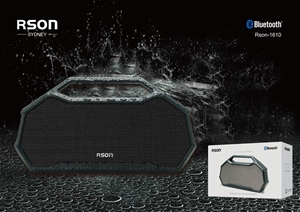Rson Outdoor Grey Box Pile Bluetooth Spe