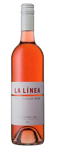 La Linea Tempranillo Rosé 2017 (12 x 750mL), Adelaide Hills, SA.