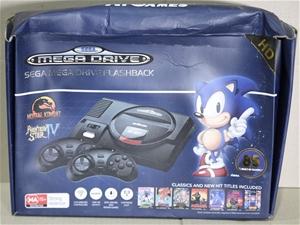 Sega Mega Drive Flashback with 85 Built-in games