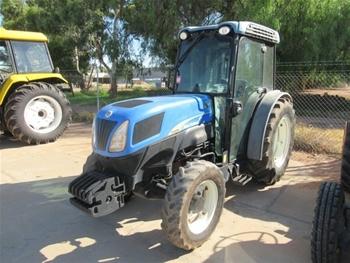 New Holland TN95FA Tractor (B-Type Asset) (Mildura, VIC)