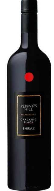 Penny's Hill Cracking Black' Shiraz 2016 (6 x 750ml) McLaren Vale SA