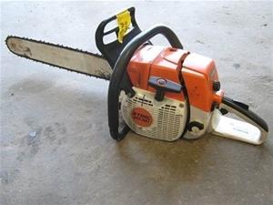 Stihl Chainsaw, Model MS381