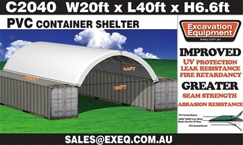 Unused Container Shelters