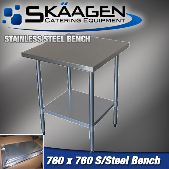 Unused Stainless Steel Bench