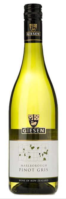 Giesen Pinot Gris 2016 (6 x 750mL), Marlborough, New Zealand.