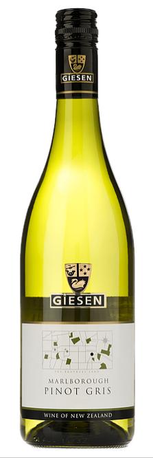Giesen Pinot Gris 2019 (6 x 750mL), Marlborough, New Zealand.
