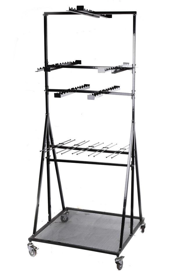 OSKA Metal Garden Tool Display Stand. (SN:9497709) (268035-177)