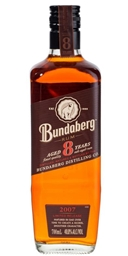 Bundaberg 8yr Old 2007 Rum (1 x 700mL) Australia
