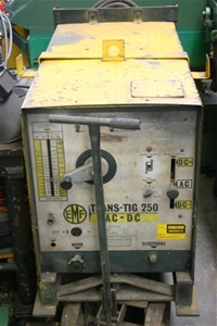 Tig Welder, EMF Trans-Tig 250, AC-DC, stick to 250Amp and Tig to250AMps, on