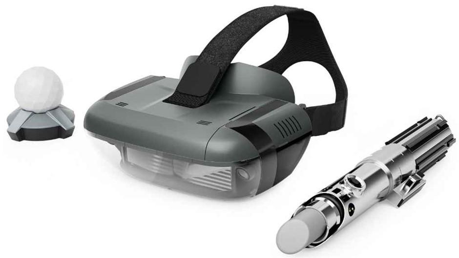 Lenovo Star Wars Jedi Challenges AR Headset