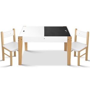Artiss Kids Table and Chair Storage Desk
