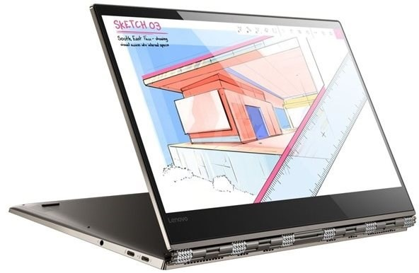"Lenovo YOGA 920 - 13.9"" 4K UHD Touch Display/i7-8550U/16GB/512GB NVMe SSD"