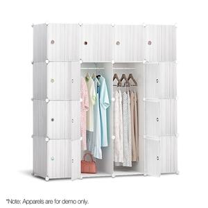 16 Cube Portable Storage Cabinet Wardrob