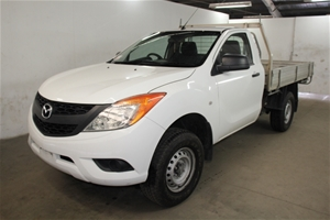 2012 Mazda BT-50 XT Turbo Diesel Cab Chassis Auction (0001-7719229 ...
