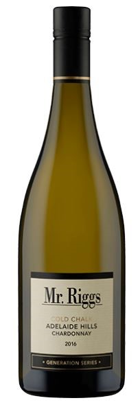 Mr Riggs Cold Chalk Chardonnay 2016 (5 x 750mL), Adelaide Hills SA